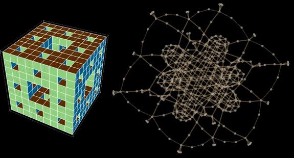 Menger sponge - Iteration 2